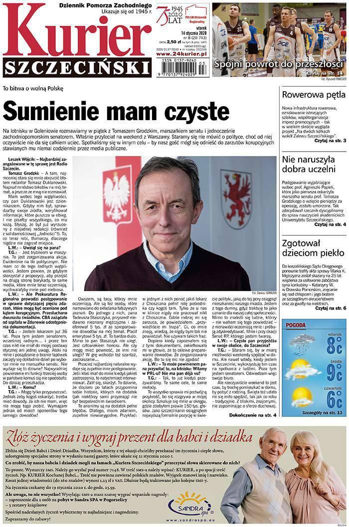 Kurier Szczeciński -                     2020-01-14