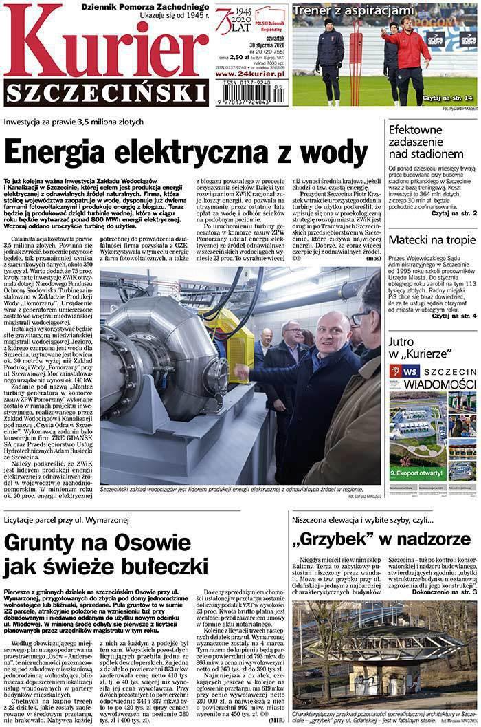 Kurier Szczeciński -                     2020-01-30
