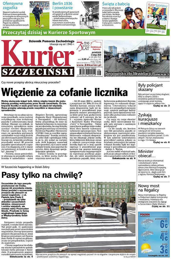 Kurier Szczeciński -                     2020-02-03