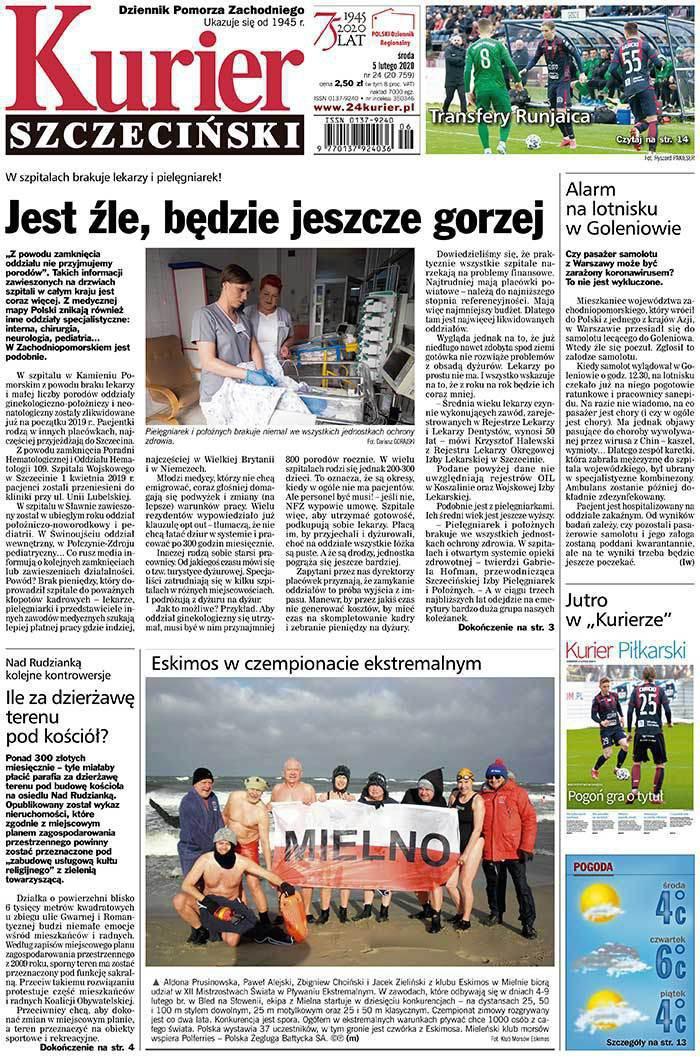Kurier Szczeciński -                     2020-02-05