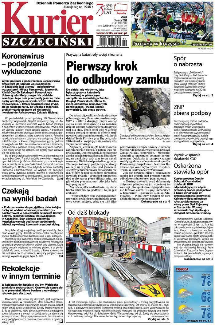 Kurier Szczeciński -                     2020-03-03