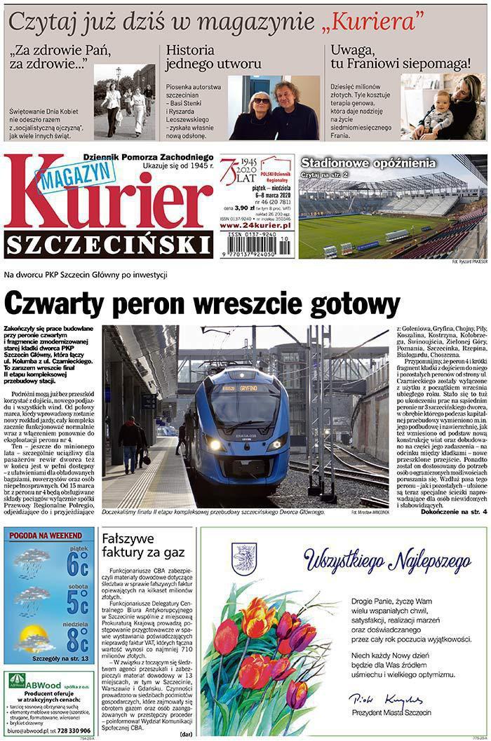 Kurier Szczeciński -                     2020-03-06