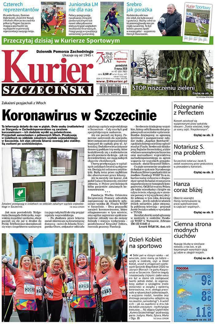 Kurier Szczeciński -                     2020-03-09