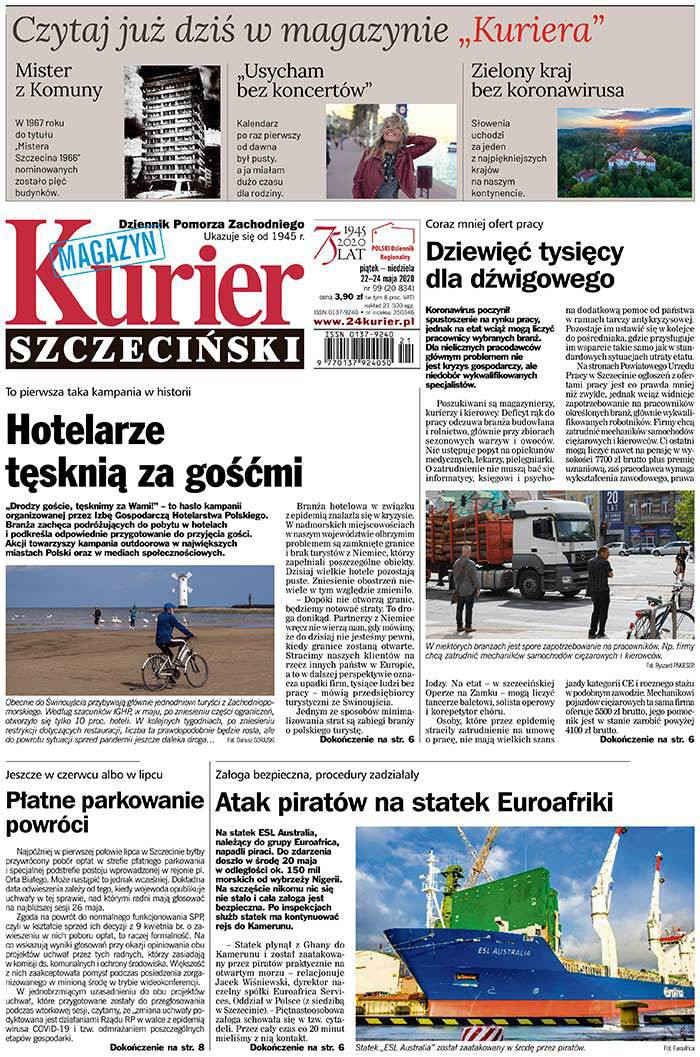 Kurier Szczeciński -                     2020-05-22