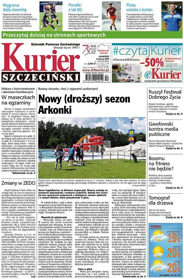 Kurier Szczeciński -                     2020-06-08
