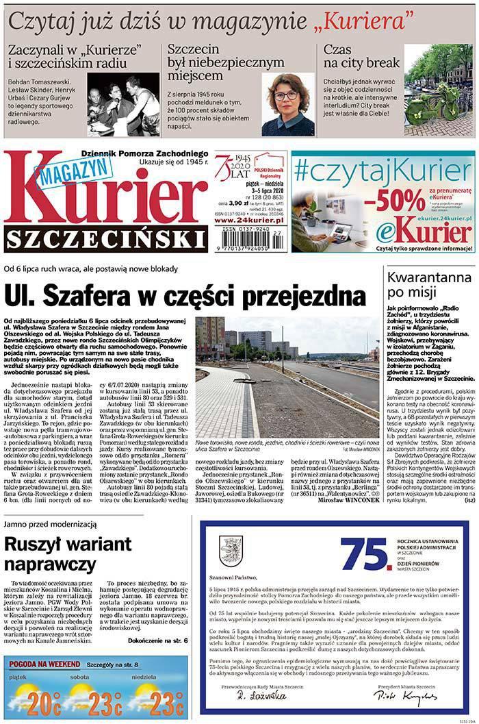 Kurier Szczeciński -                     2020-07-03