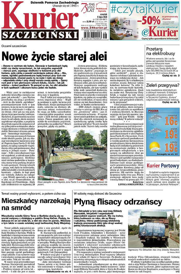 Kurier Szczeciński -                     2020-07-09