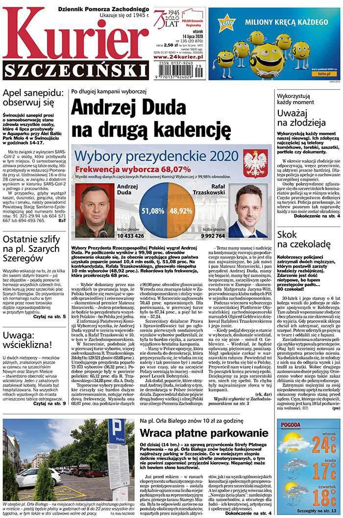 Kurier Szczeciński -                     2020-07-14
