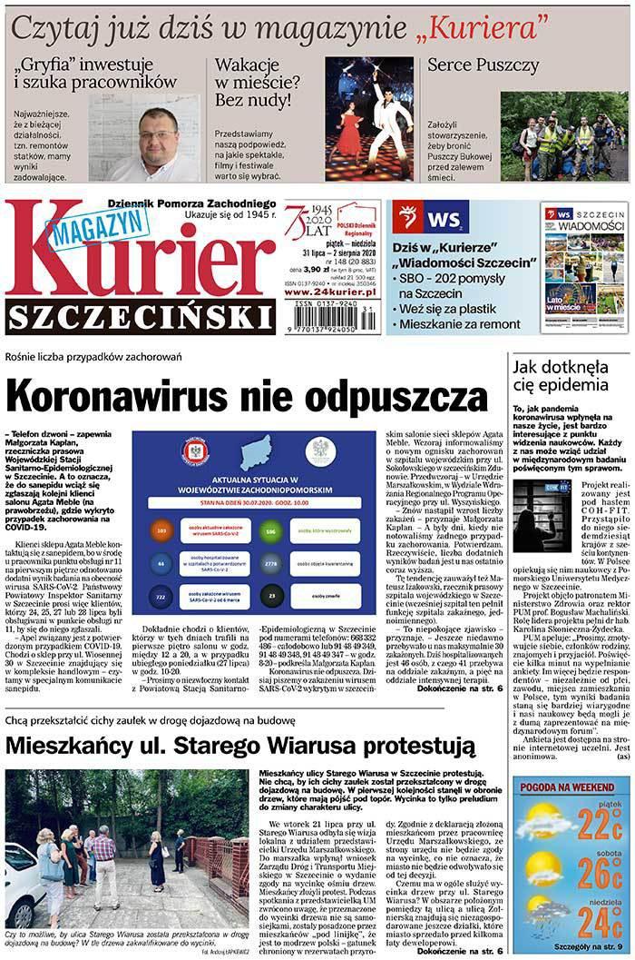 Kurier Szczeciński -                     2020-07-31