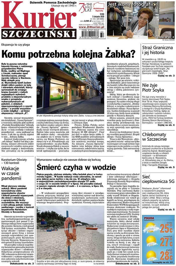 Kurier Szczeciński -                     2020-08-05