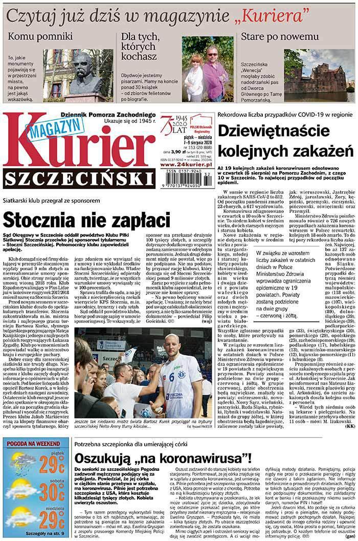 Kurier Szczeciński -                     2020-08-07