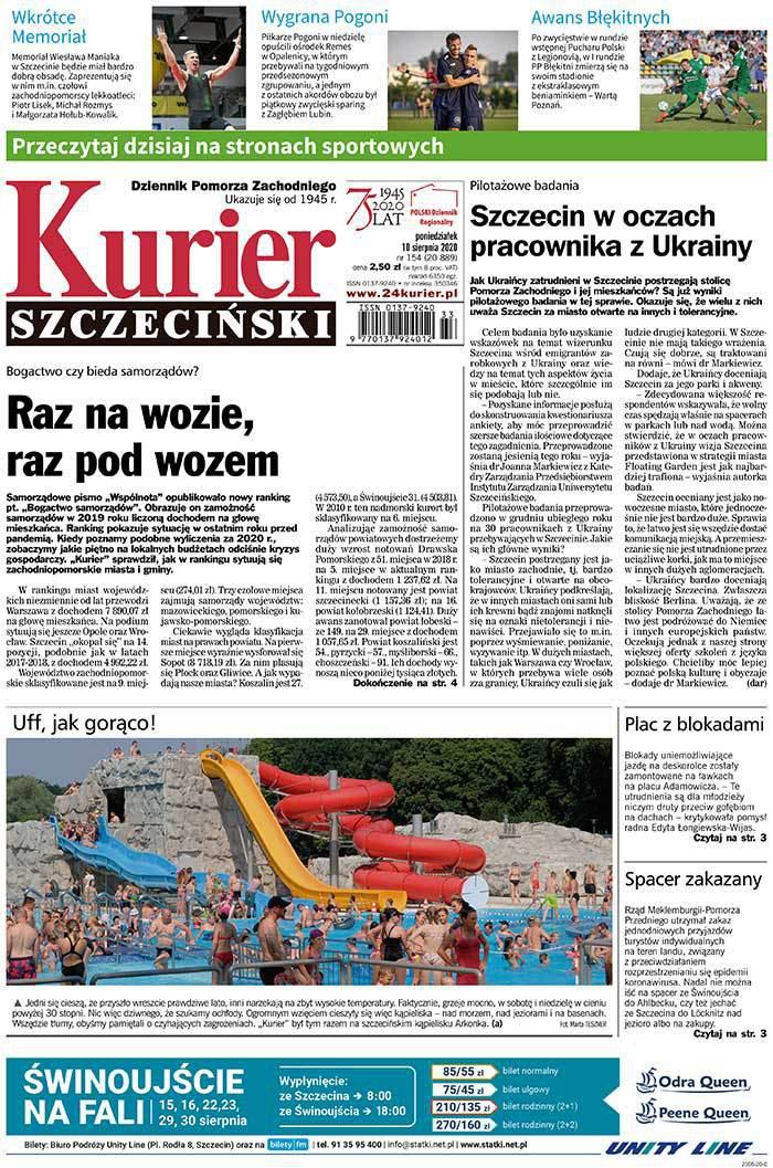 Kurier Szczeciński -                     2020-08-10