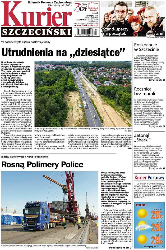 Kurier Szczeciński -                     2020-08-13
