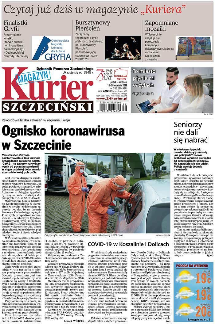 Kurier Szczeciński -                     2020-09-18