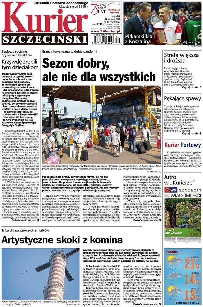 Kurier Szczeciński -                     2020-09-24