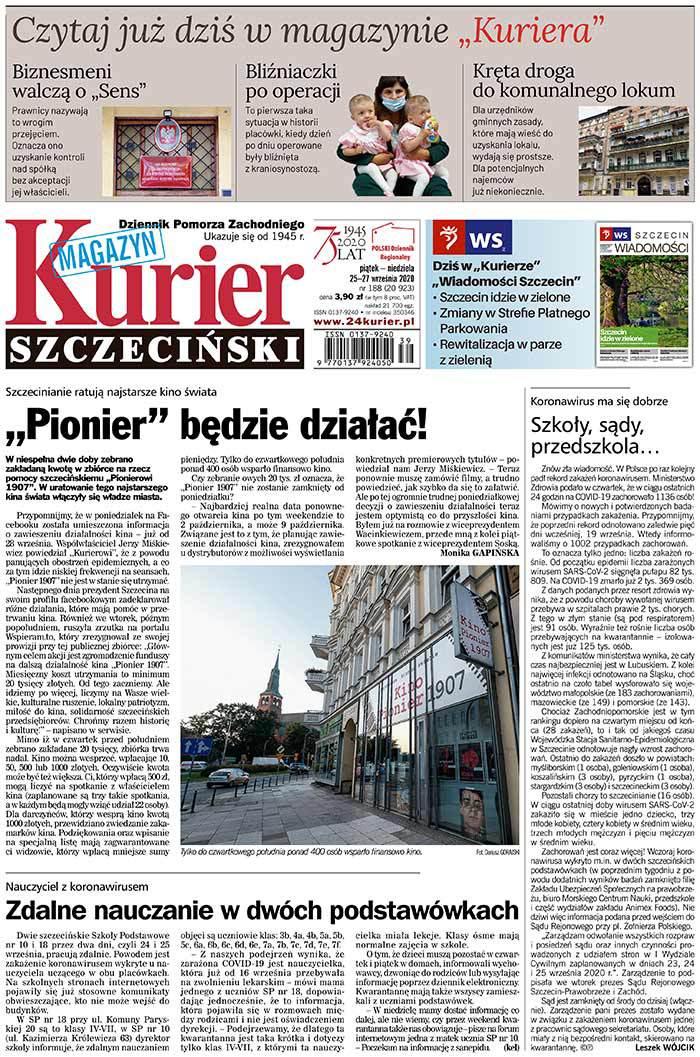 Kurier Szczeciński -                     2020-09-25