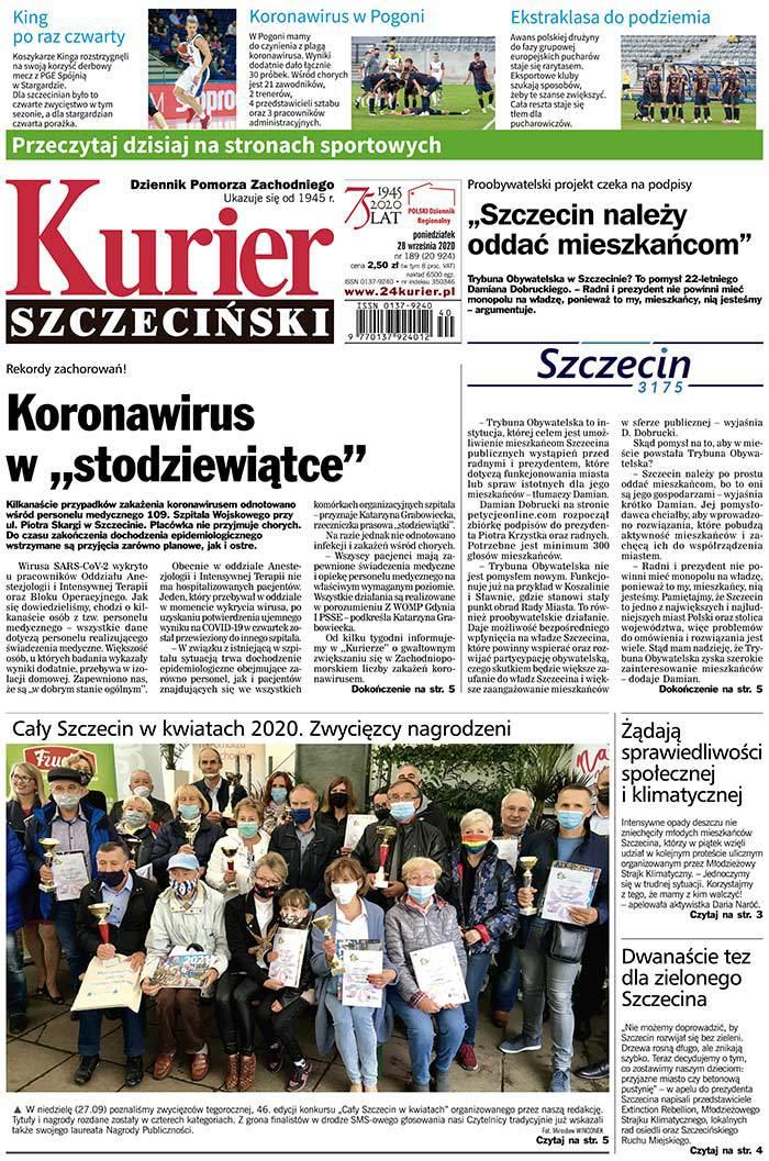 Kurier Szczeciński -                     2020-09-28