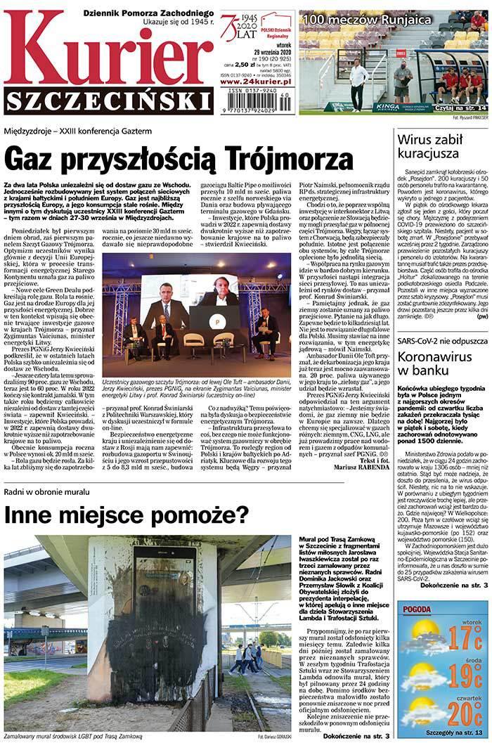 Kurier Szczeciński -                     2020-09-29