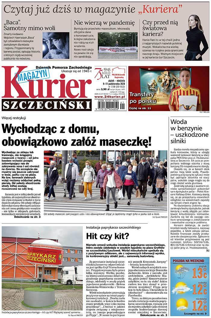Kurier Szczeciński -                     2020-10-09