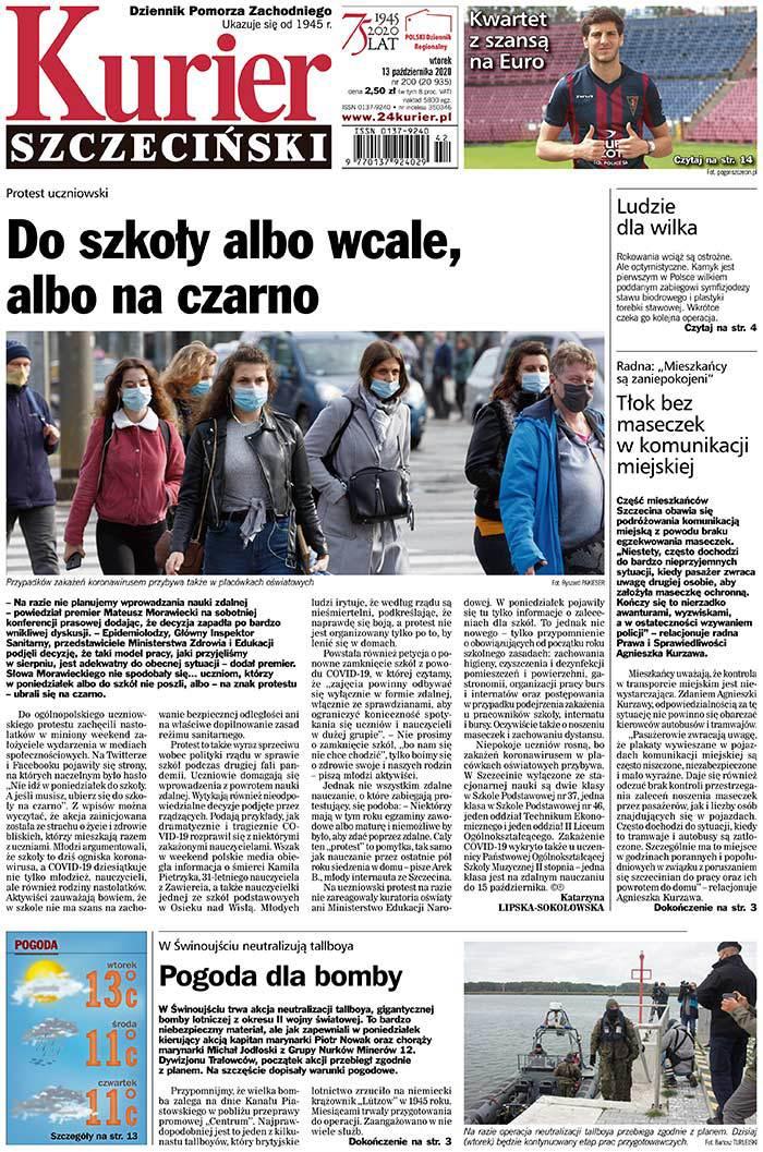 Kurier Szczeciński -                     2020-10-13