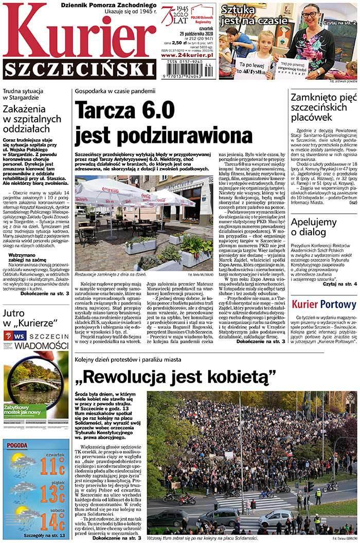 Kurier Szczeciński -                     2020-10-29