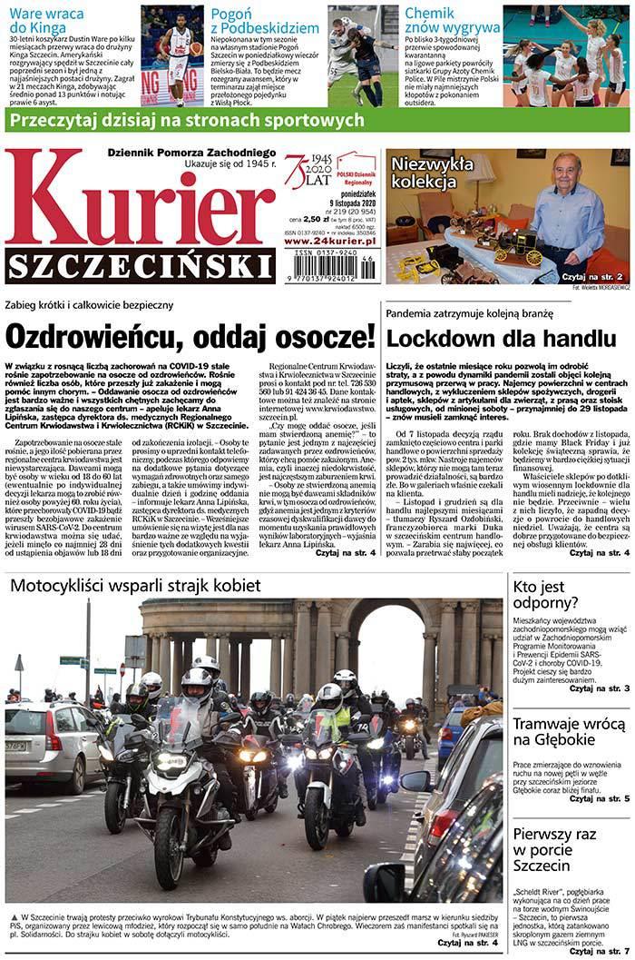 Kurier Szczeciński -                     2020-11-09