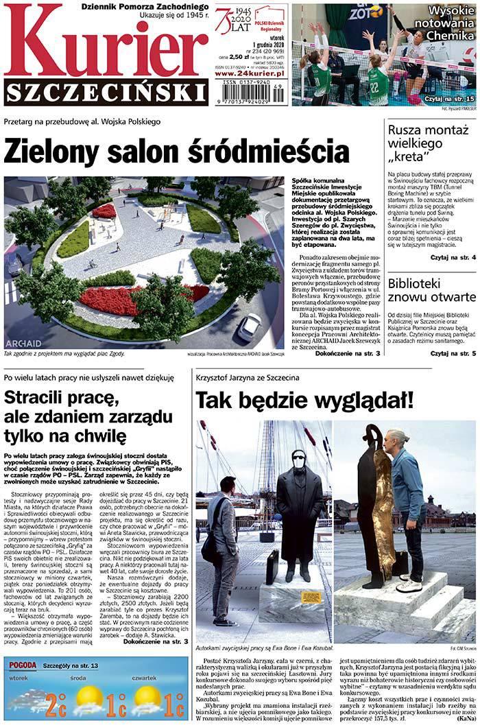Kurier Szczeciński -                     2020-12-01