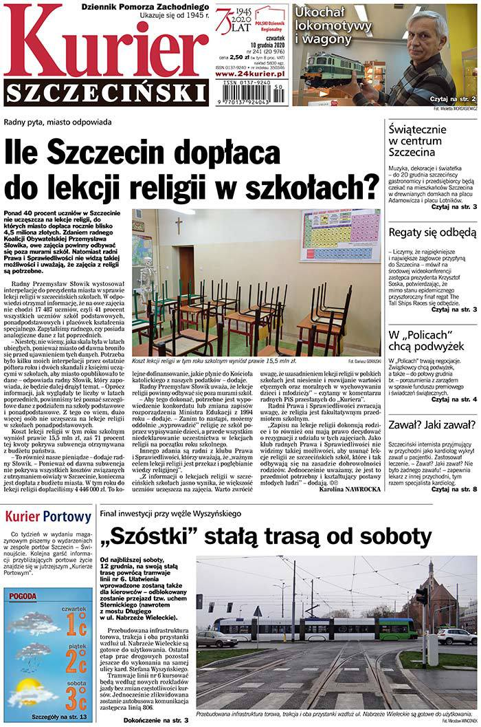 Kurier Szczeciński -                     2020-12-10