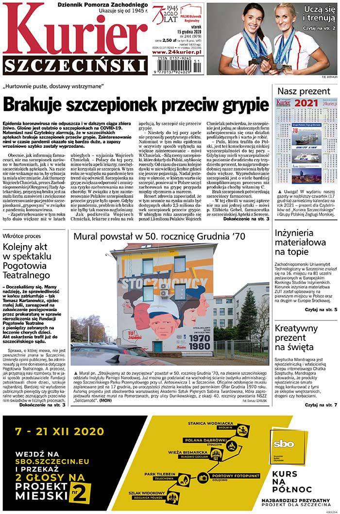 Kurier Szczeciński -                     2020-12-15