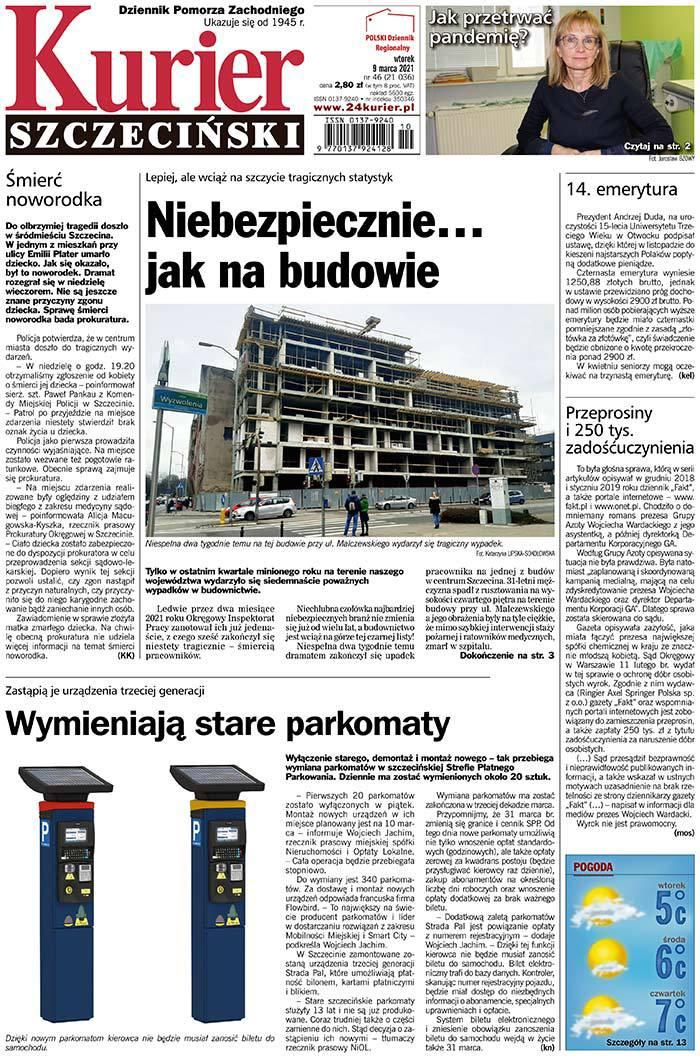 Kurier Szczeciński -                     2021-03-09