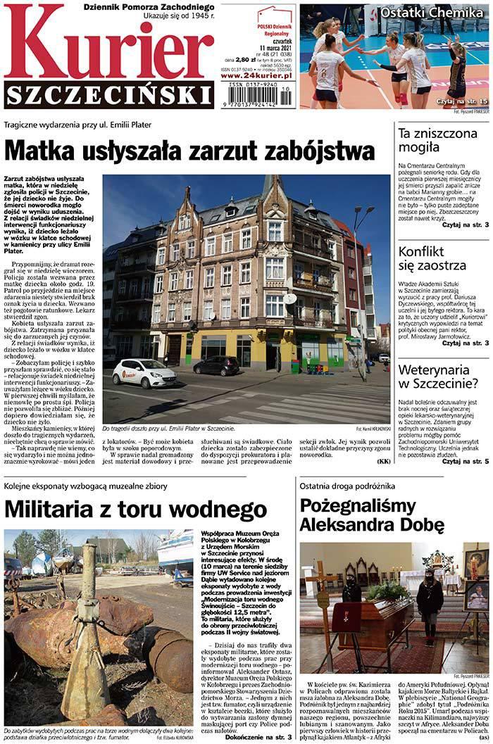 Kurier Szczeciński -                     2021-03-11