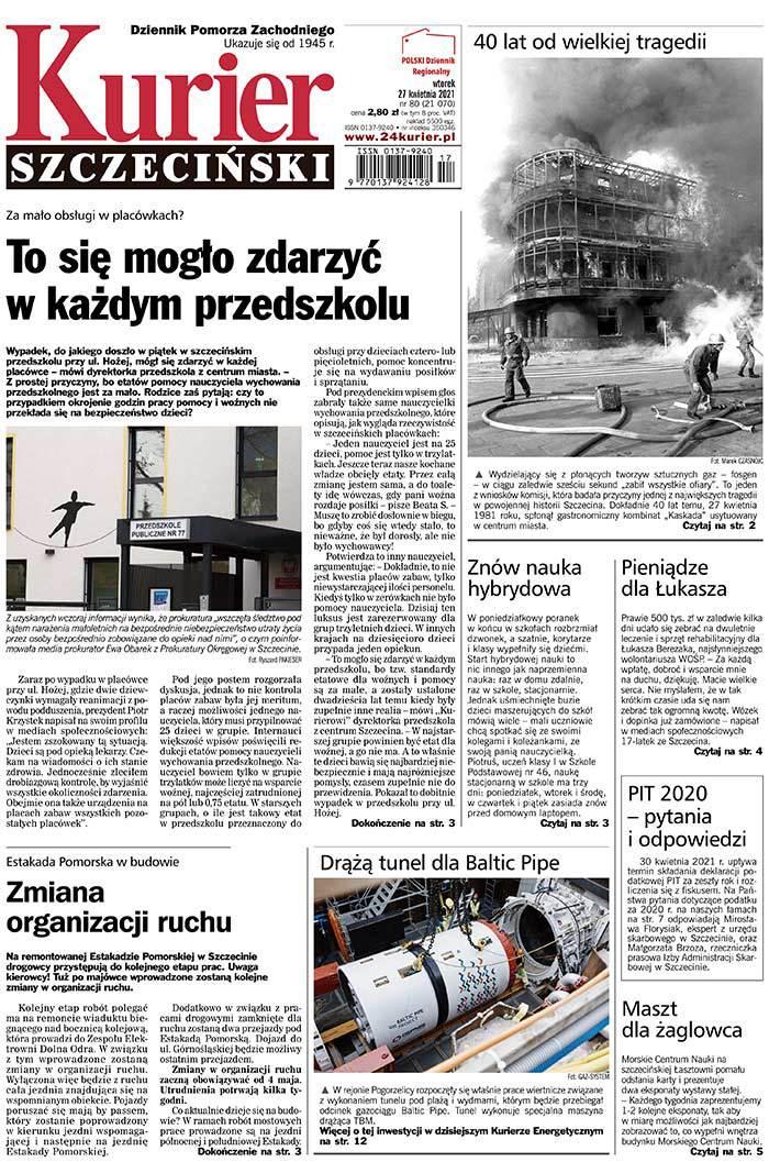Kurier Szczeciński -                     2021-04-27