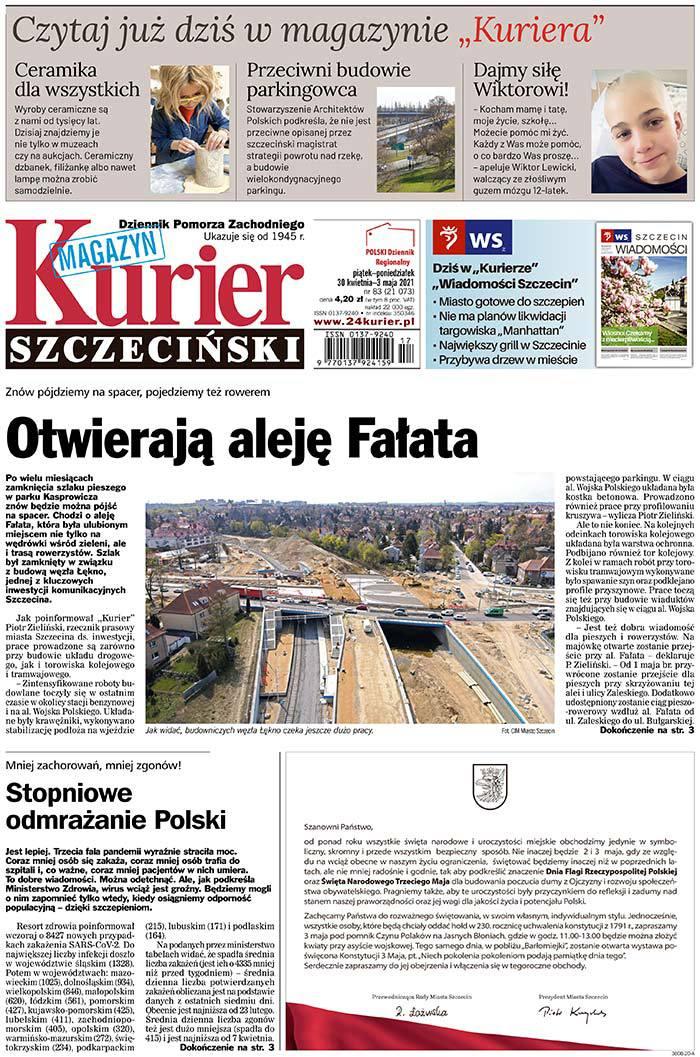 Kurier Szczeciński -                     2021-04-30