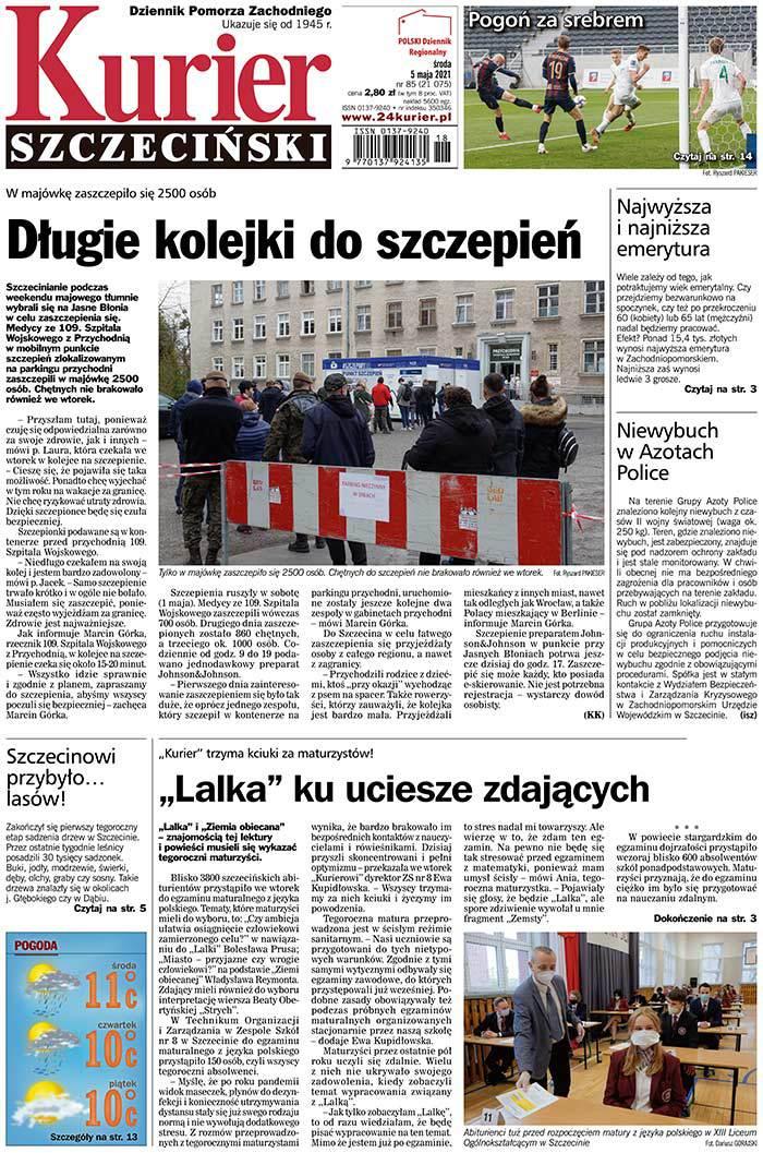 Kurier Szczeciński -                     2021-05-05