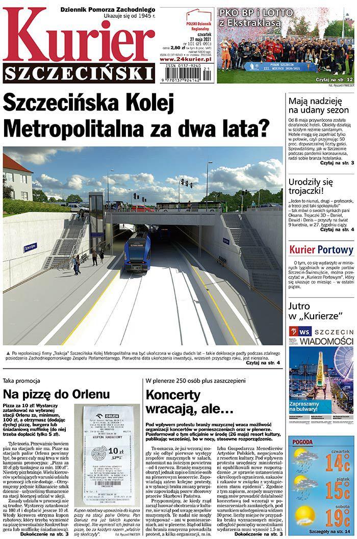 Kurier Szczeciński -                     2021-05-27