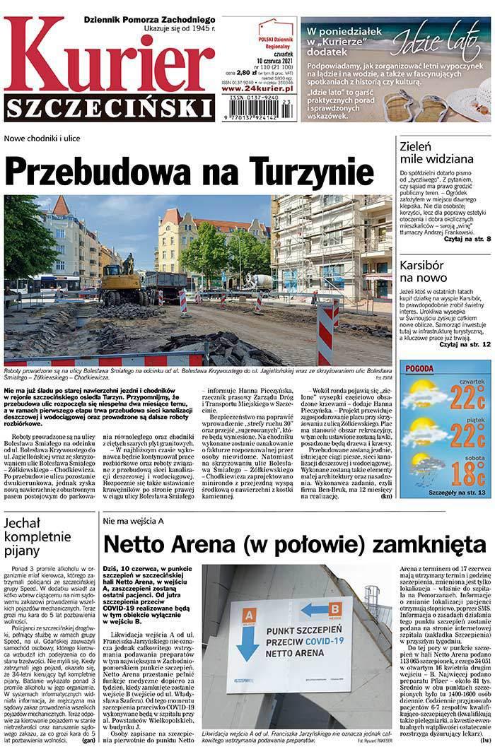 Kurier Szczeciński -                     2021-06-10