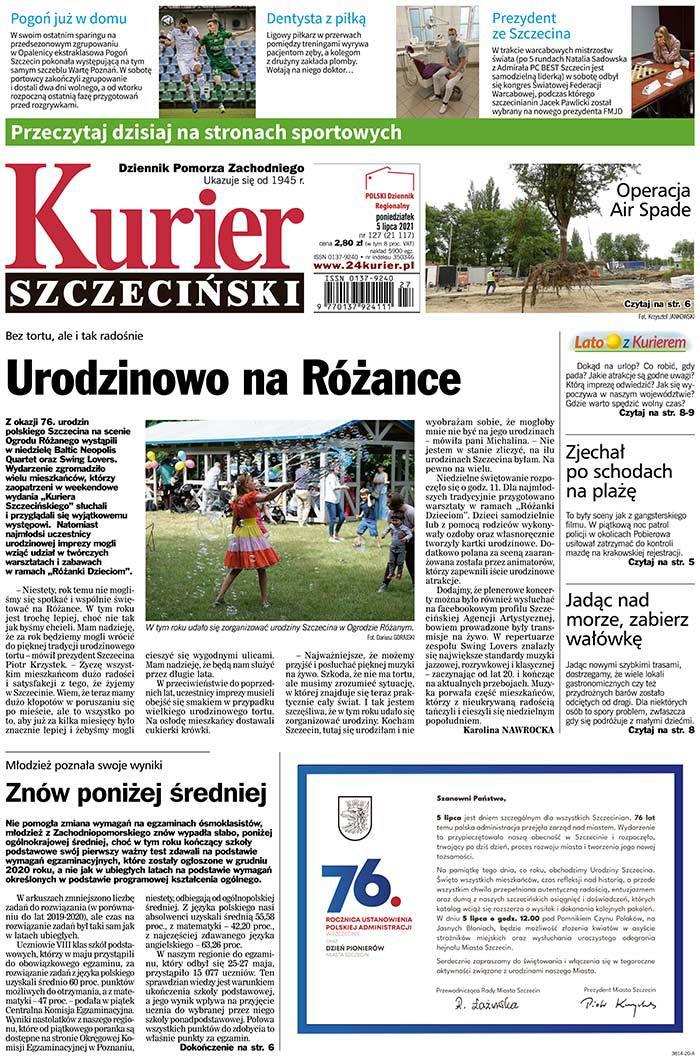 Kurier Szczeciński -                     2021-07-05