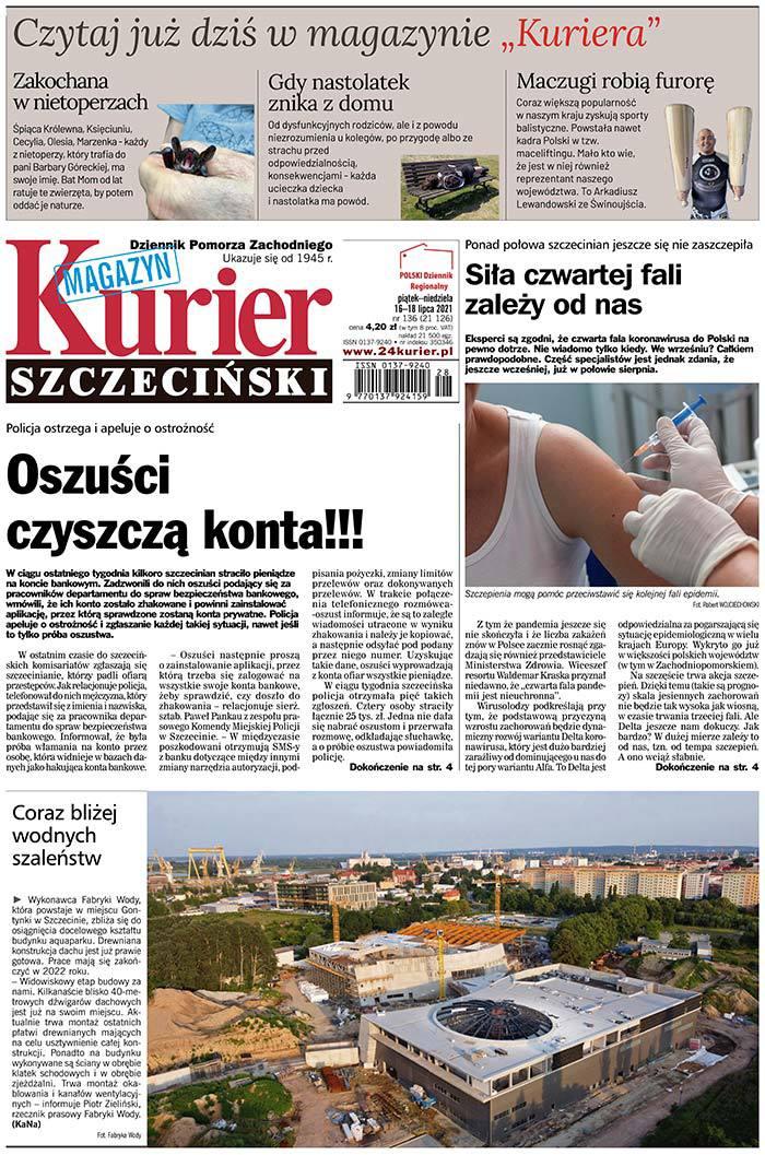 Kurier Szczeciński -                     2021-07-16
