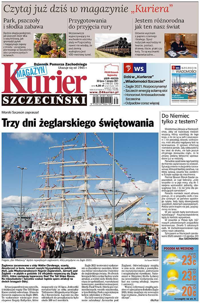 Kurier Szczeciński -                     2021-07-30
