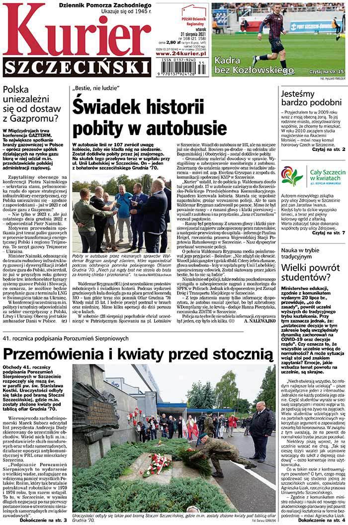 Kurier Szczeciński -                     2021-08-31