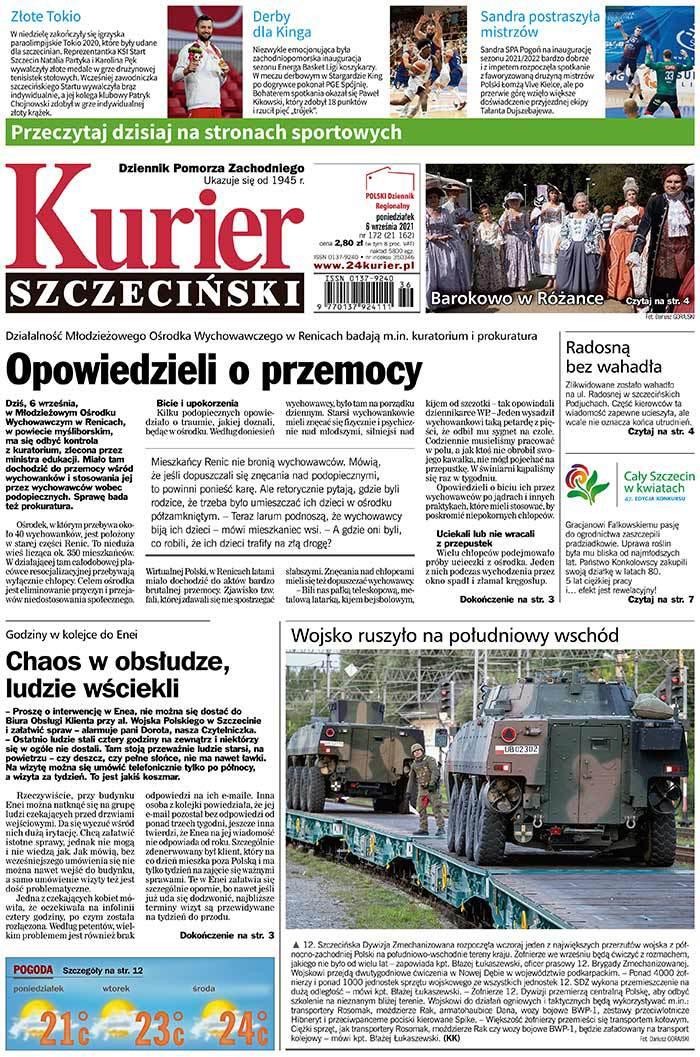 Kurier Szczeciński -                     2021-09-06