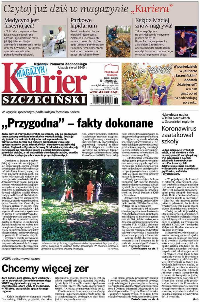 Kurier Szczeciński -                     2021-09-10