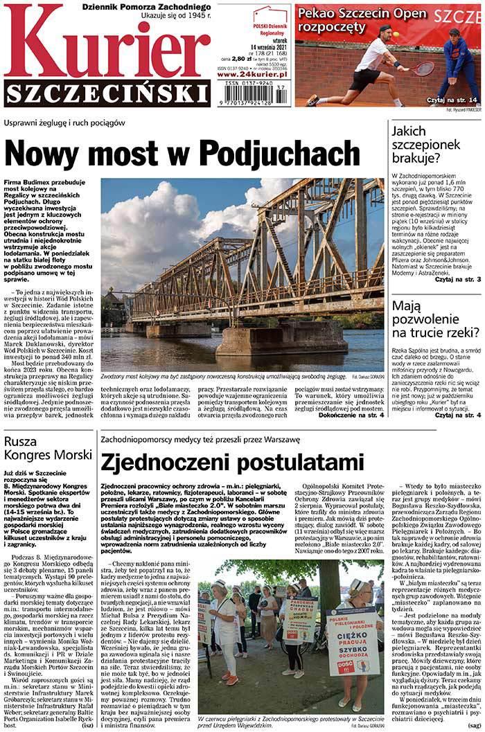 Kurier Szczeciński -                     2021-09-14