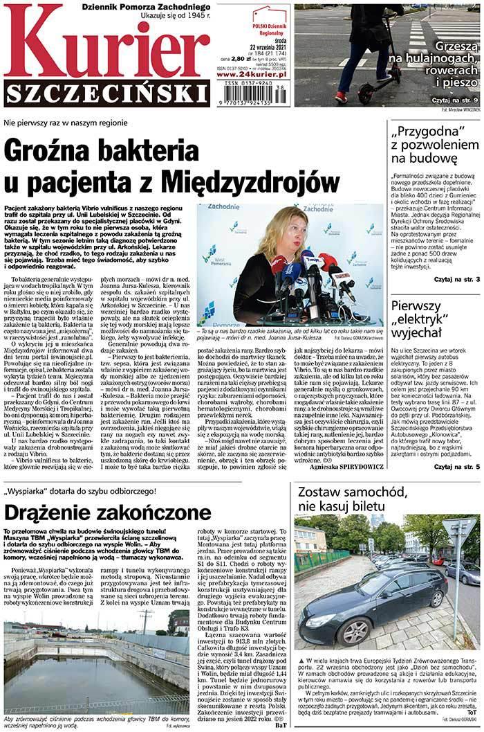Kurier Szczeciński -                     2021-09-22