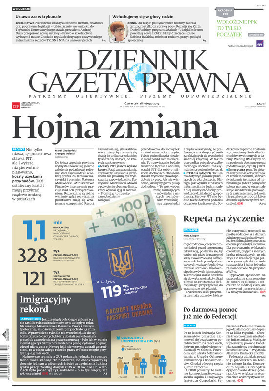 Dziennik Gazeta Prawna -                     2019-02-28