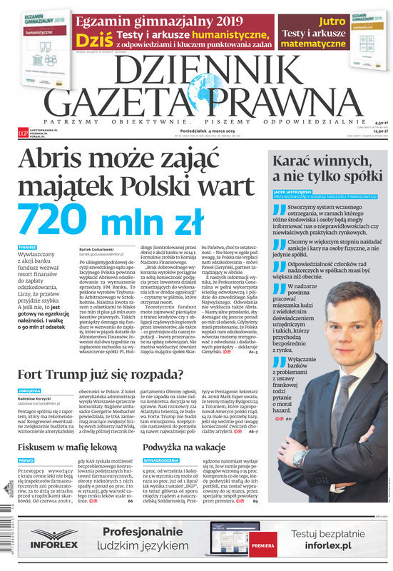 Dziennik Gazeta Prawna -                     2019-03-04
