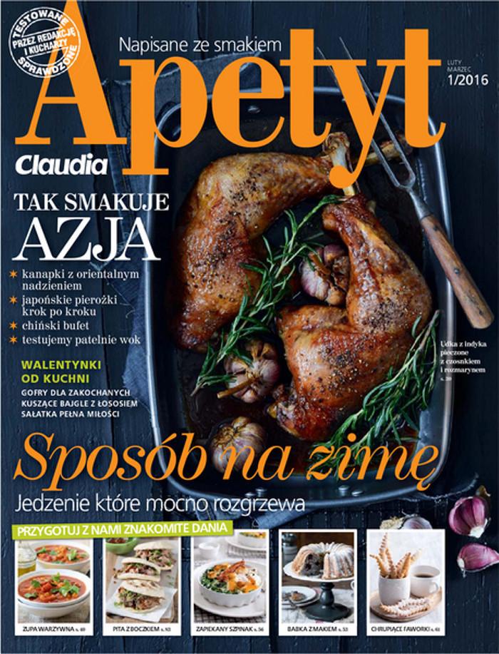 Claudia Apetyt -                     1/2016