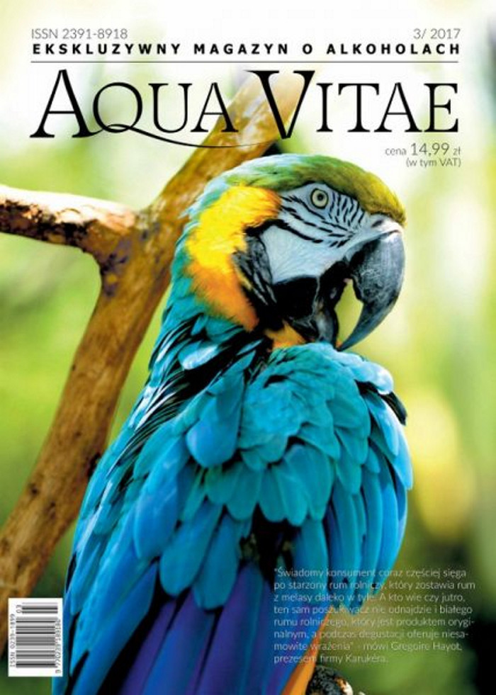 Aqua Vitae. Ekskluzywny Magazyn o Alkoholach -                     3/2017