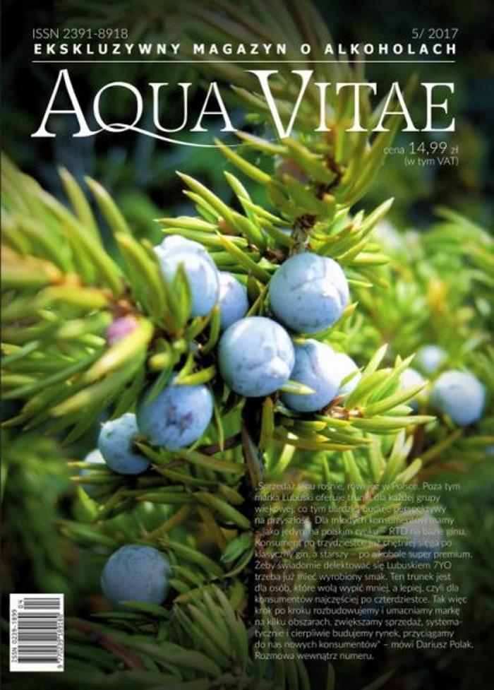 Aqua Vitae. Ekskluzywny Magazyn o Alkoholach -                     5/2017