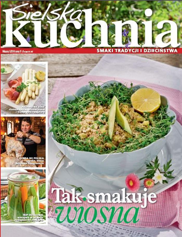 Sielska Kuchnia 12016 Pierwsze Strony Jedynki